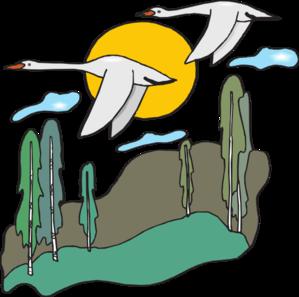 Framed Flying Geese PNG Clip art