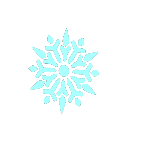 Snowflake PNG clipart