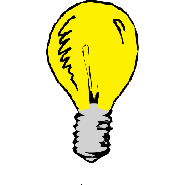 Blue Light Bulb PNG Clip art