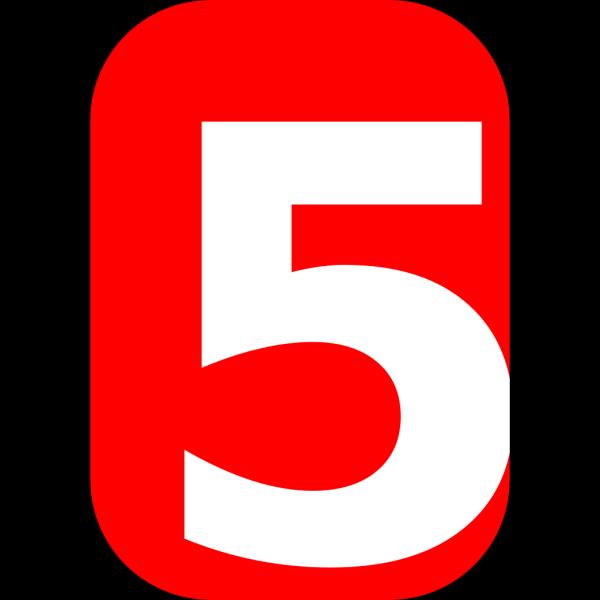 Number 5 PNG Clip art