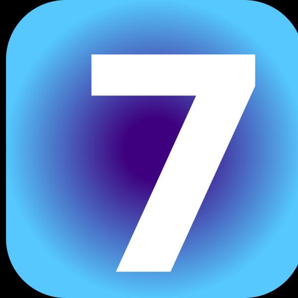 Number 7 PNG Clip art