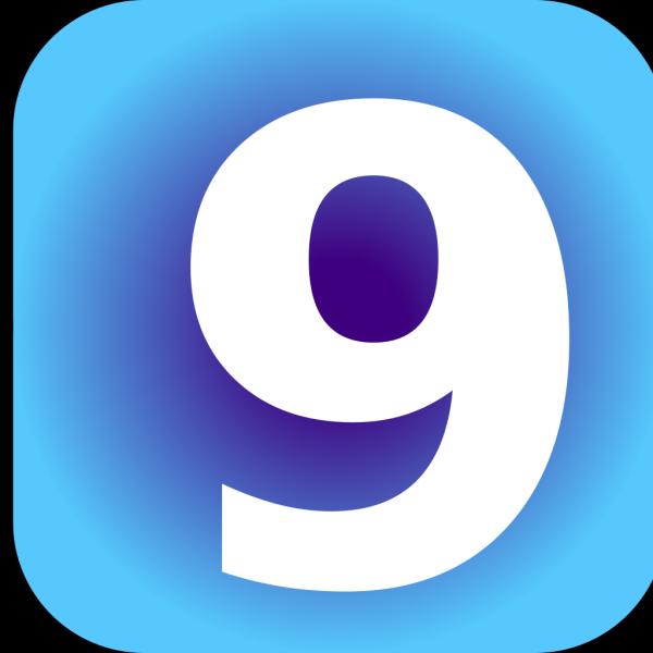Number 9 PNG Clip art
