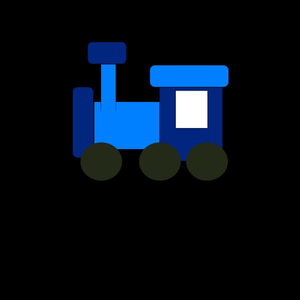 Blue Train PNG Clip art