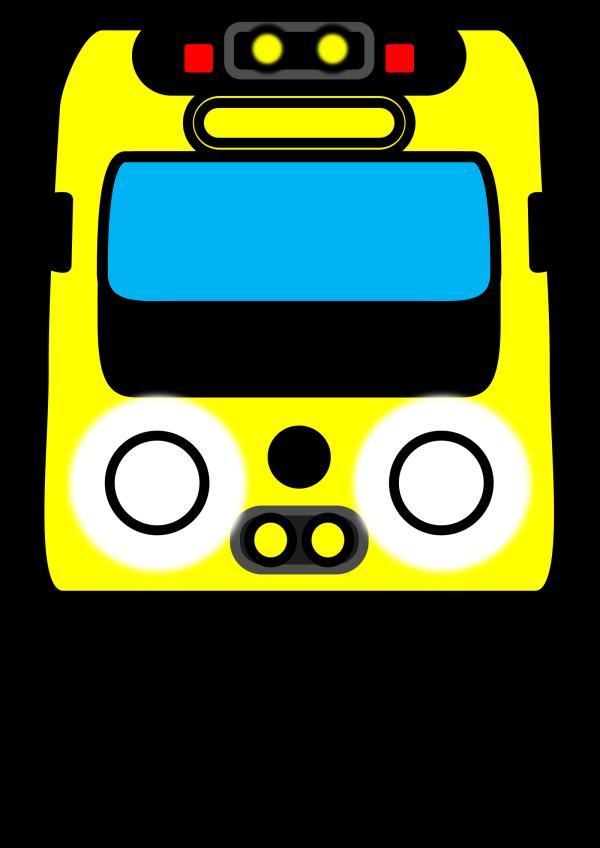 Little Blue Train PNG Clip art