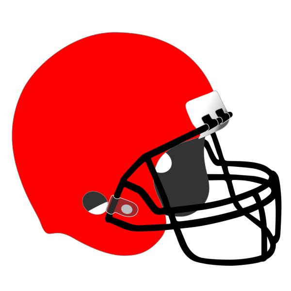 Green Football Helmet PNG clipart