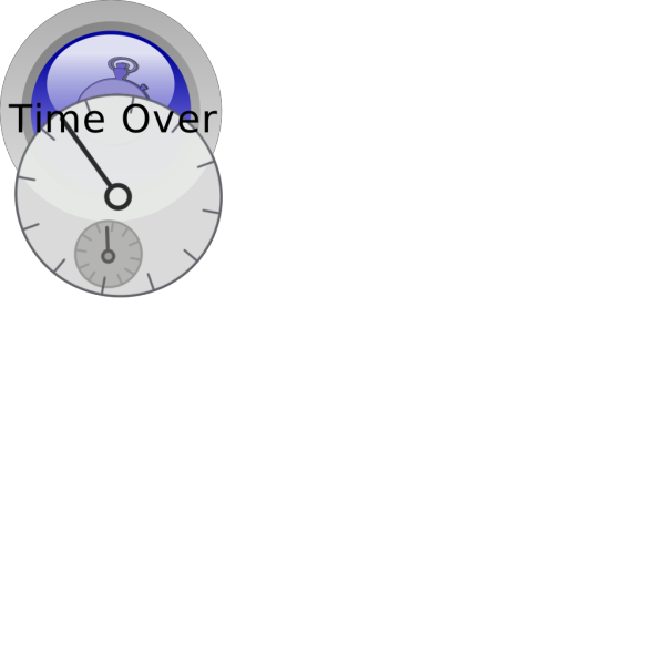 Time Over PNG Clip art