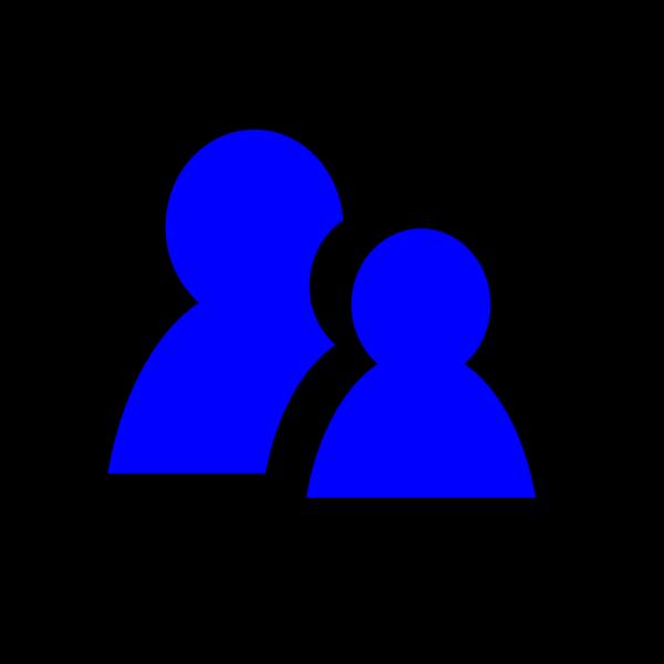 Dark Blue Message PNG Clip art