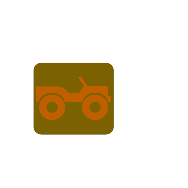 Blue Jeep PNG icon