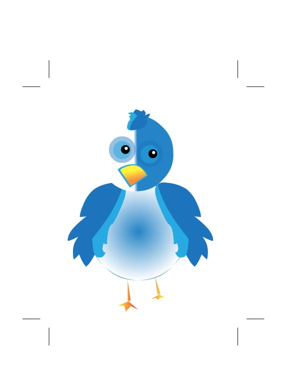 Blue Little Bird PNG Clip art