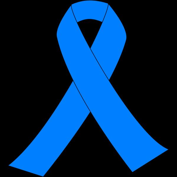 Prostate Cancer Light Blue Ribbon PNG Clip art
