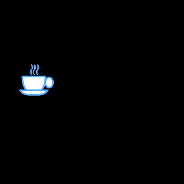 Blue Tea Cup PNG Clip art