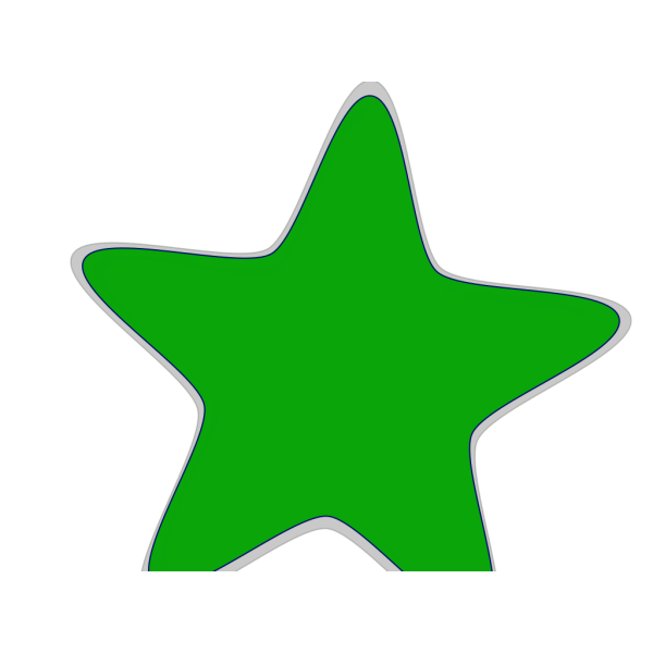 Turquoise And Lime Green Starfish PNG Clip art