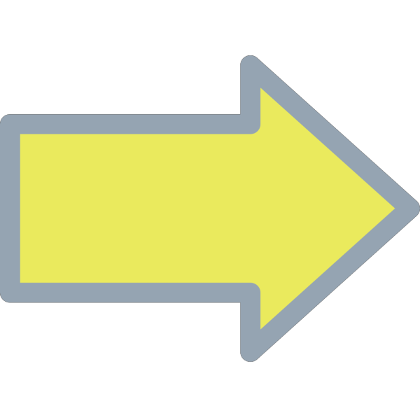 Yellow Arrow PNG Clip art