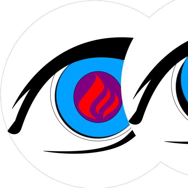 Burning Eye PNG Clip art