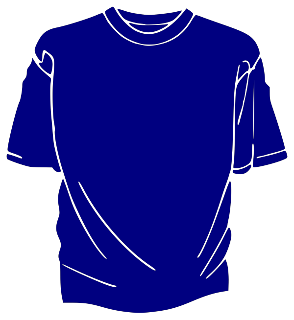Blue T-shirt PNG Clip art