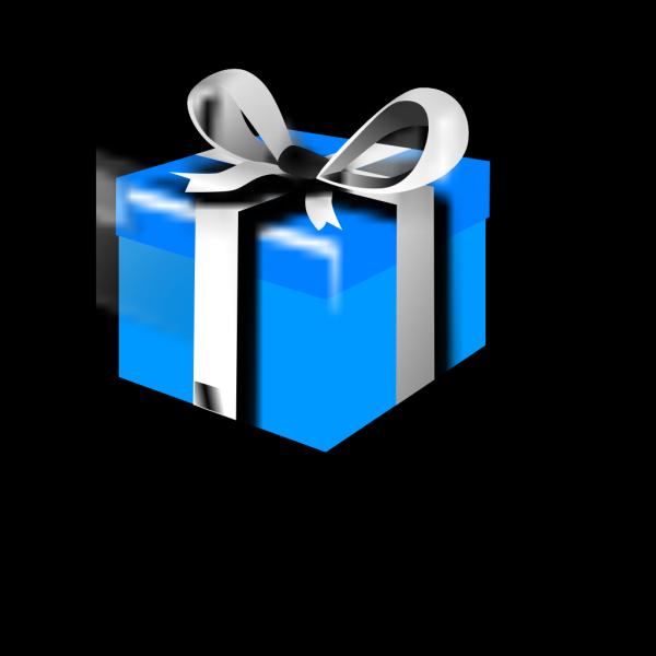 Blue-gift PNG Clip art