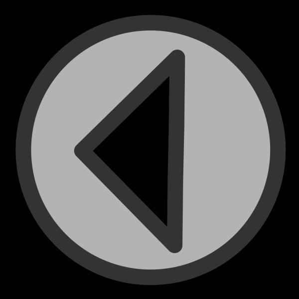 Blue Left Arrow PNG Clip art