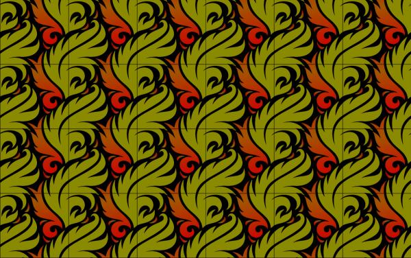 Crest Leaves PNG Clip art