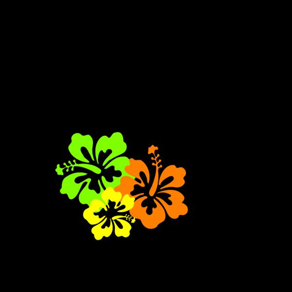 Hibiscus Blue  PNG Clip art