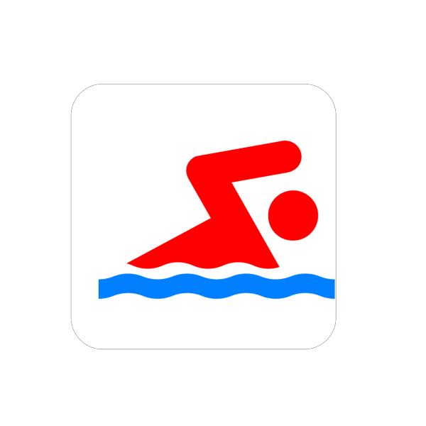 Swimmer Large PNG Clip art