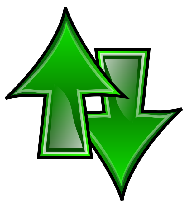 Up Down Indicators PNG Clip art