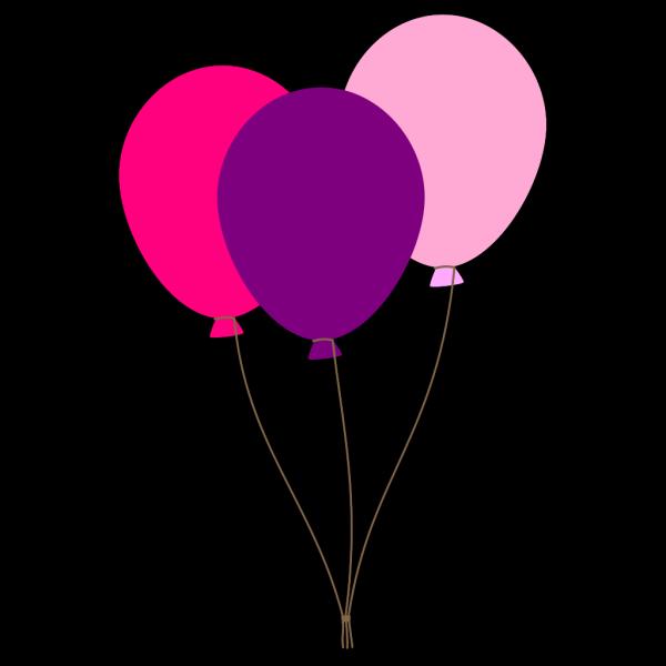 Girl Ballons PNG Clip art