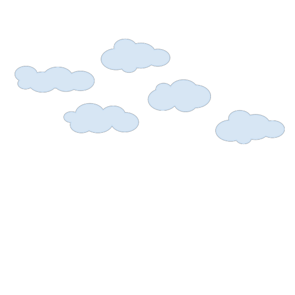 Clouds Group PNG Clip art