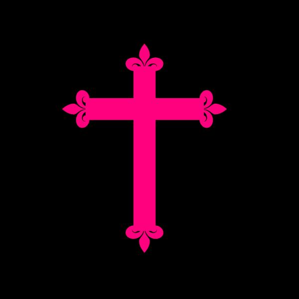 Fleur De Lis Cross PNG Clip art