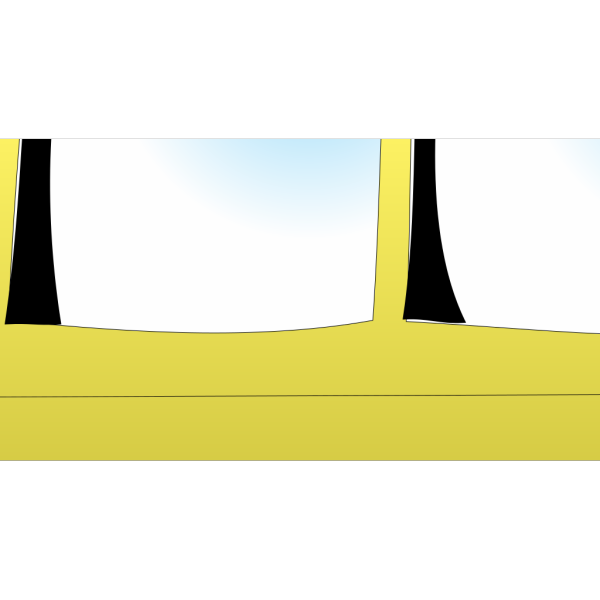 School Bus Outline PNG images