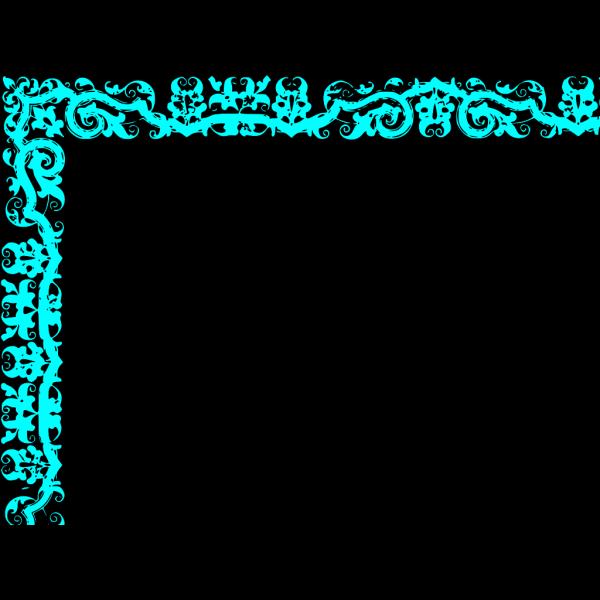 Border Blue PNG Clip art