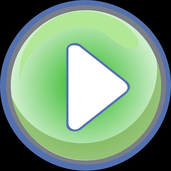 Blue Mute Button PNG Clip art