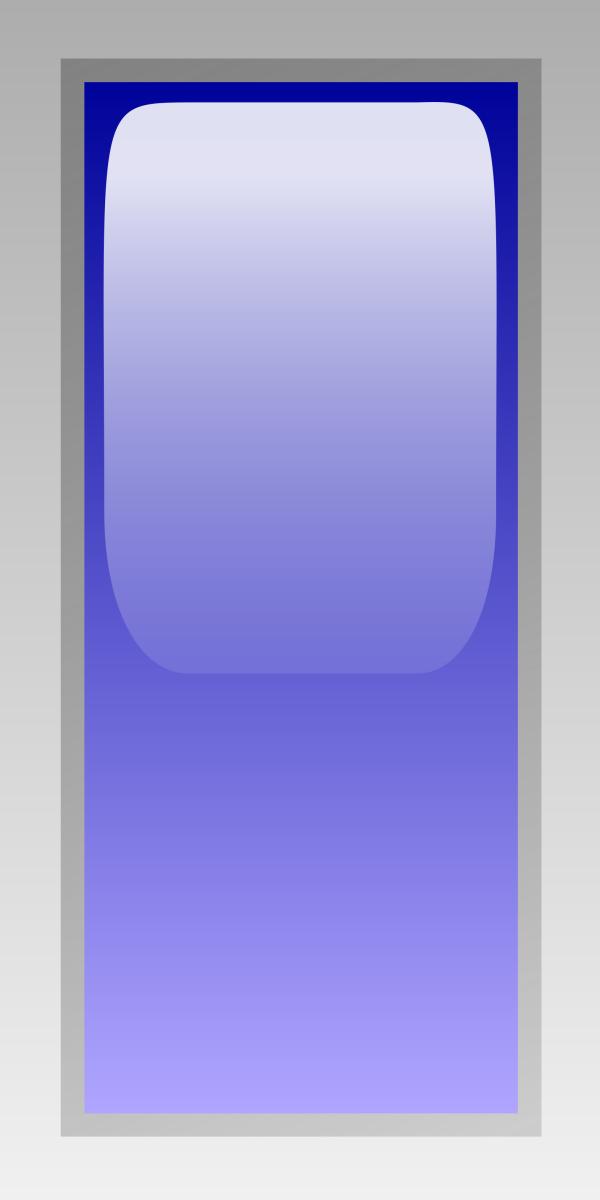 Button Blue PNG Clip art