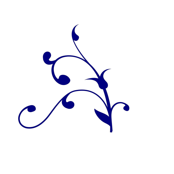 Blue Swirl Thing PNG Clip art