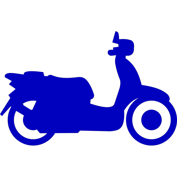 Bluw Scooter PNG Clip art