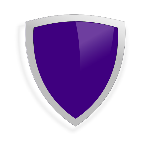 Blue Security Shield Transparent PNG clipart