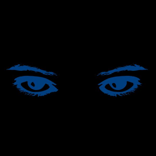 Drishti Eye Blue PNG Clip art