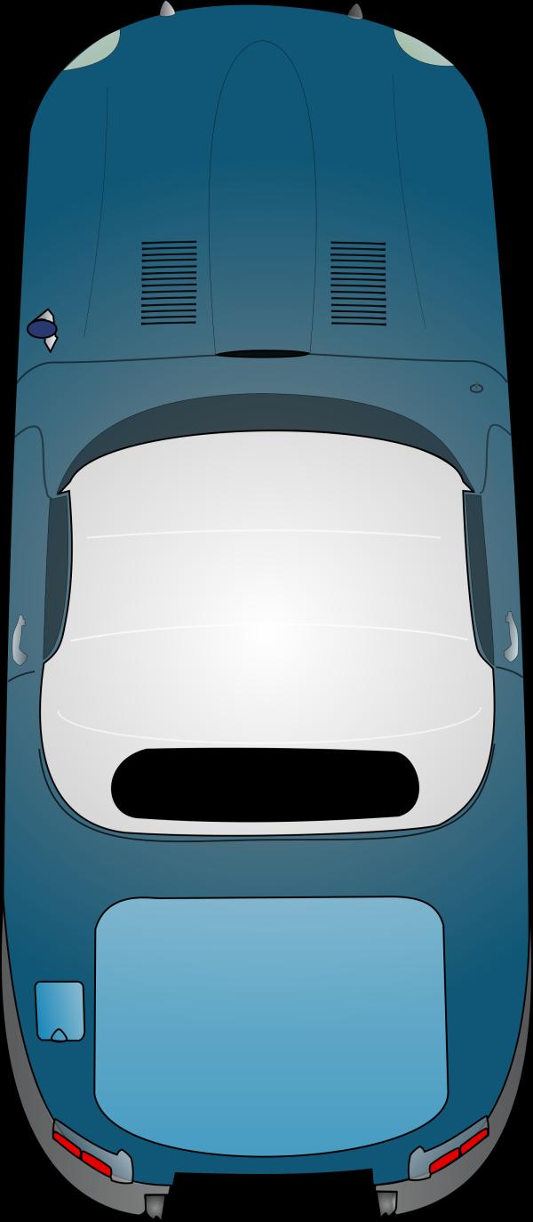 Blue Pantone Car PNG Clip art