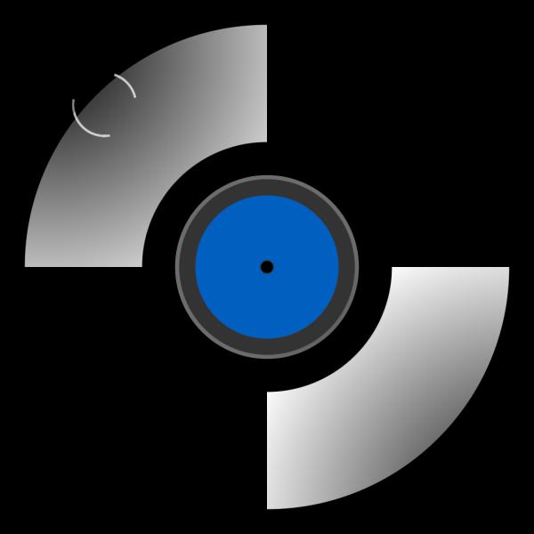 Blue Record PNG Clip art