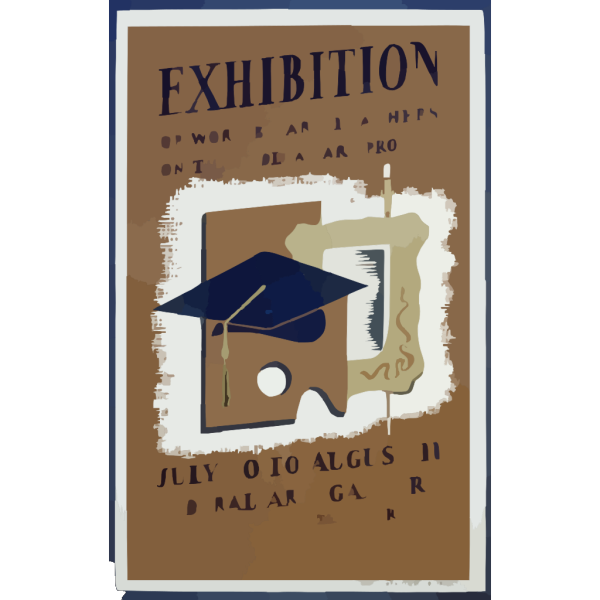 Exhibition Of Work By Art Teachers On The Federal Art Project PNG images