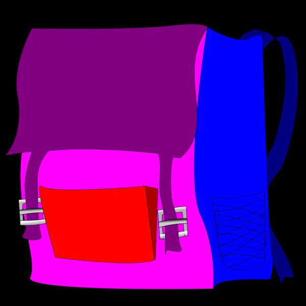 Blue Backpack PNG images