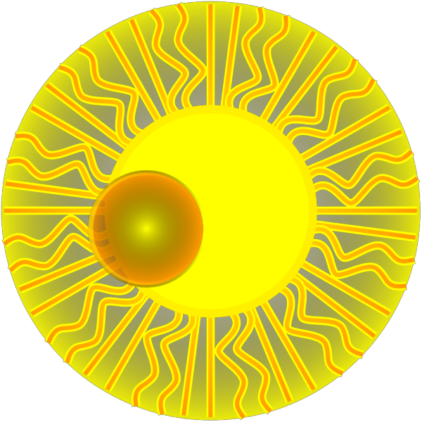 Blue Sun PNG Clip art