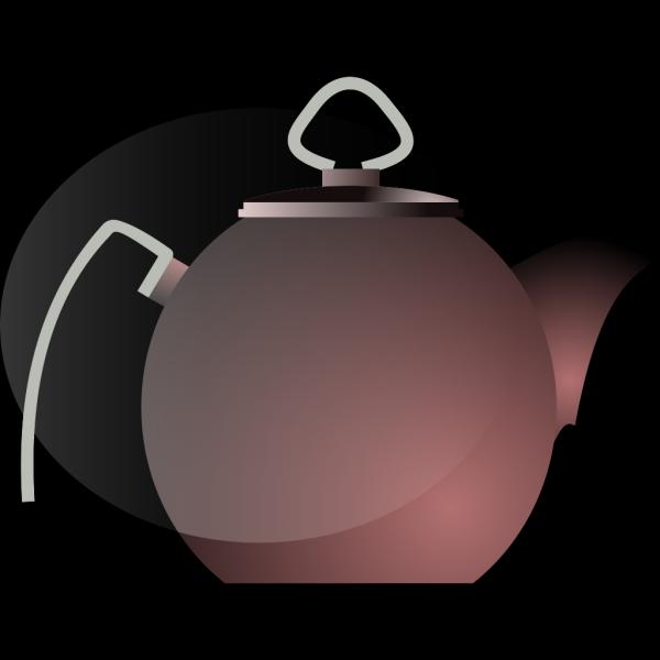 Tea White Pot PNG Clip art