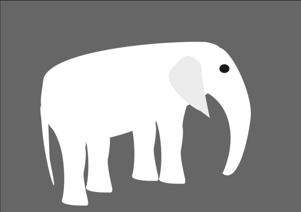 Blue Elephant Brown PNG Clip art
