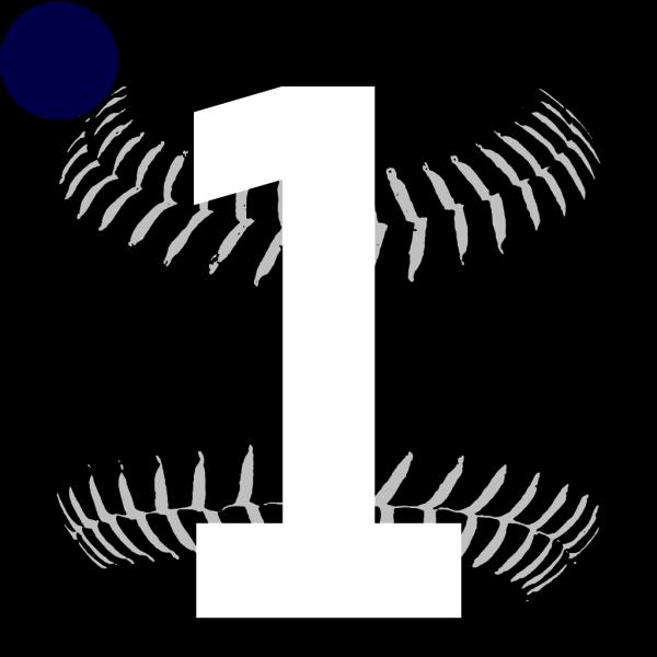 Blue Softball 2 PNG Clip art
