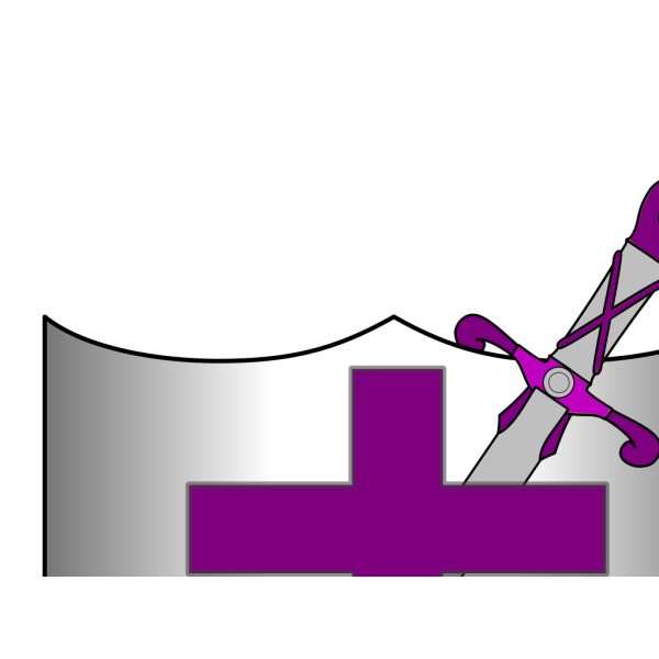 Cross Sword And Shield PNG Clip art