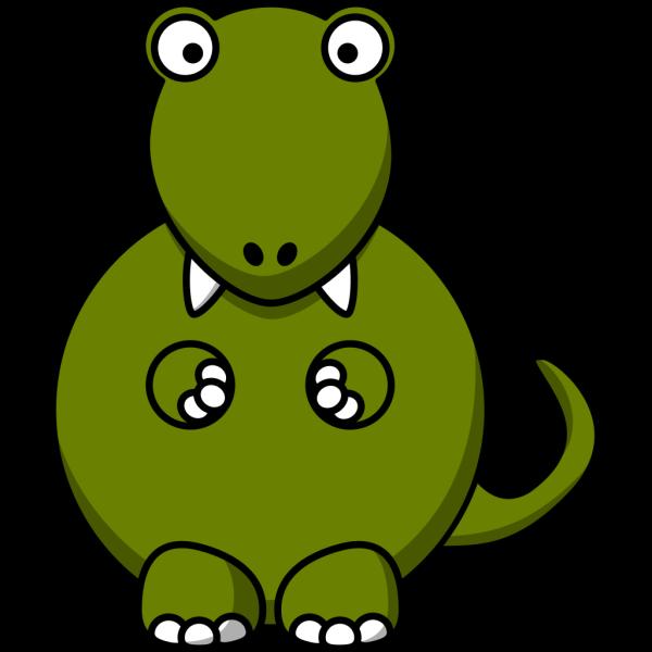 Blue Aquatic Dinosaur PNG Clip art