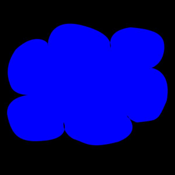 Blue Cloud PNG Clip art