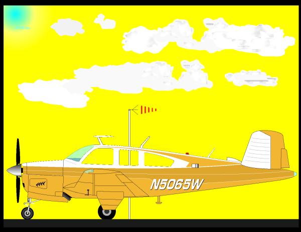Blue Plane 3 PNG Clip art