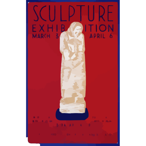Sculpture Exhibition - March 23-april 16 - Federal Art Gallery PNG Clip art