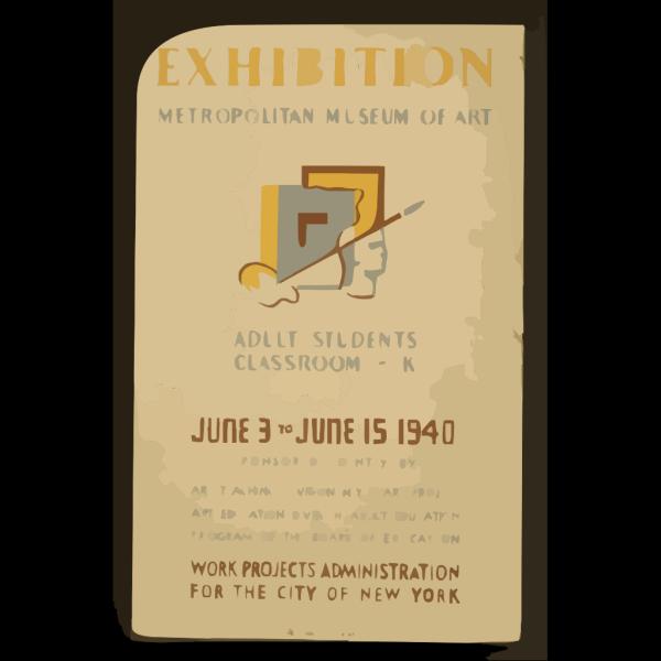 Exhibition - Metropolitan Museum Of Art Adult Students Classroom - K. PNG Clip art